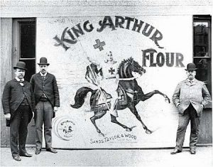 King Arthur Flour at the Boston Food Fair, 1896
